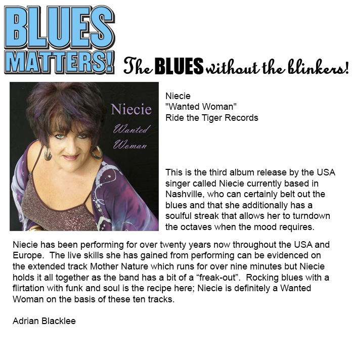 Blues Matters May 2014