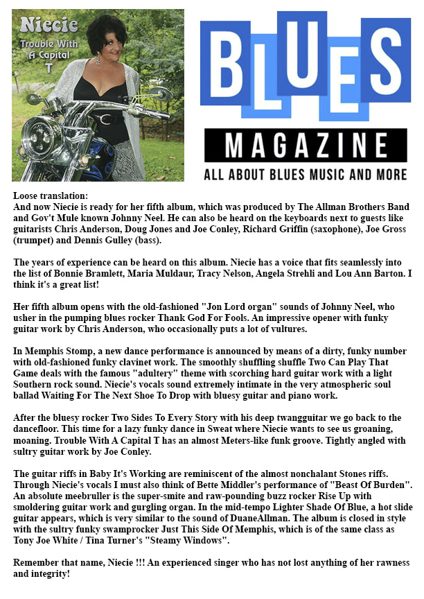 blues magazine netherlands trouble 2018 12